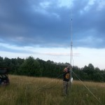 LY3QL tvirtina anteną